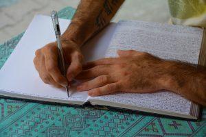 Goal setting tips journals