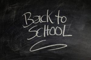 Elementary schoolers back to school