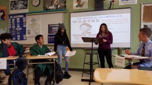 Christopher Columbus trial